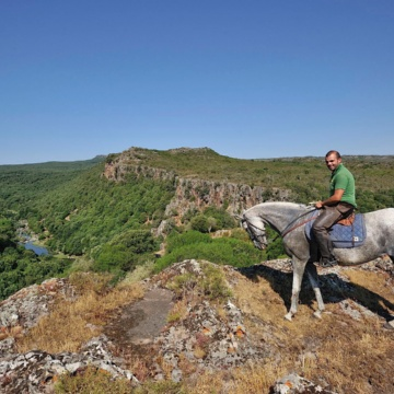 Padria, horse riding (photo Ivo Piras)