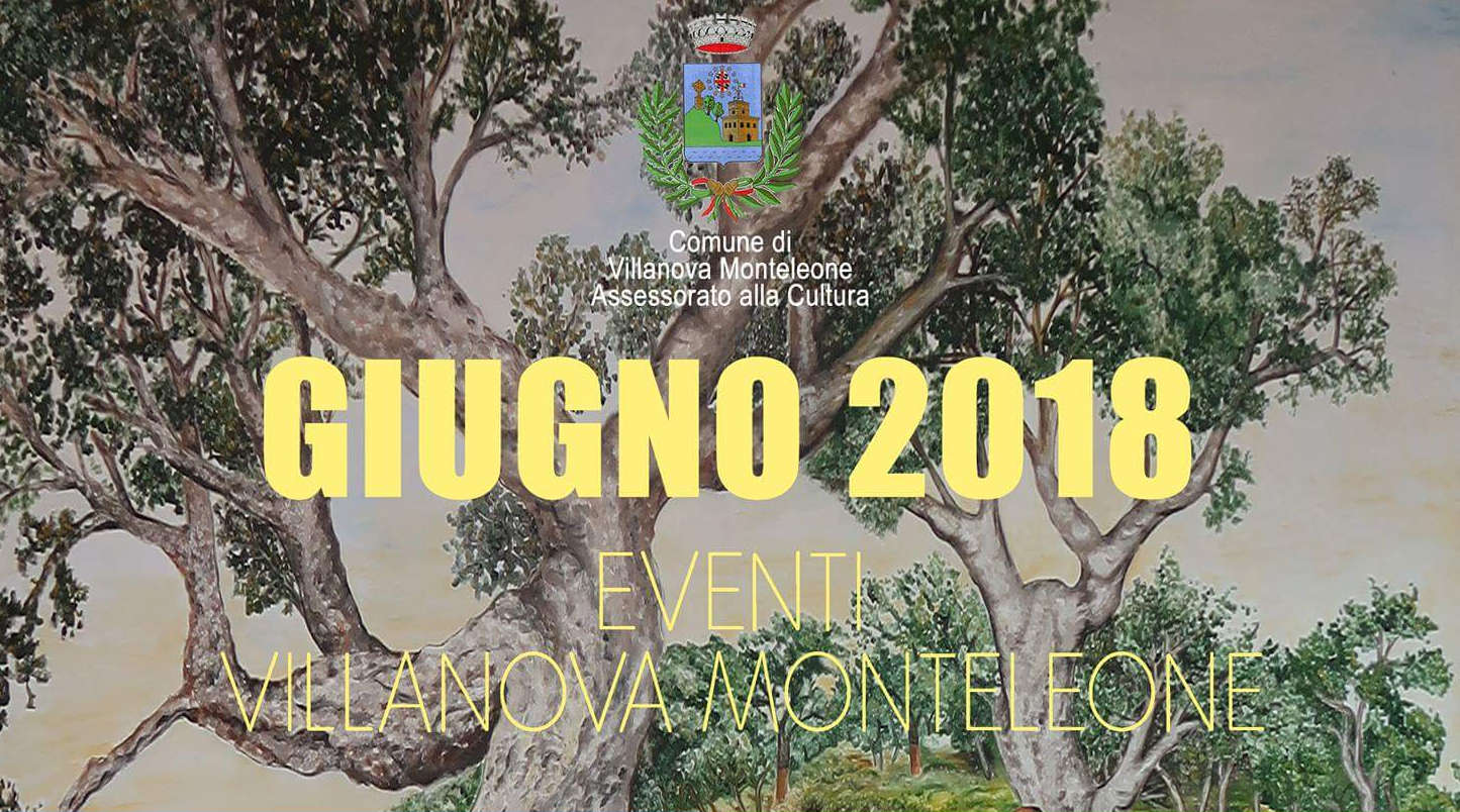 San Leonardo Calendario.Viva Calendario Eventi Villanova Monteleone Giugno 2018