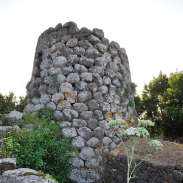 Padria, Nuraghe Longu. (photo Ivo Piras)